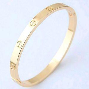Gold Screwdriver Lock Bracelet